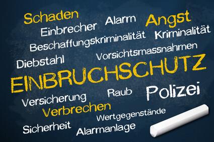 Einbruchschutz Kreidetafel Schlüsseldienst Bremen